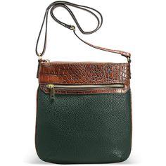 Avenue Kiley Envelope Crossbody Handbag ($40) ❤ liked on Polyvore featuring bags, handbags, shoulder bags, green, plus size, crossbody purse, faux leather purse, green shoulder bag, green crossbody purse and crossbody shoulder bags