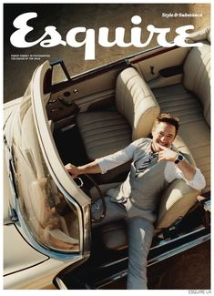 Robert Downey Jr. Stars in Cheeky Photo Shoot for Esquire UK November 2014