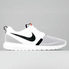 official photos 2315e 28133 Comprare Scarpa Nike Roshe Run NM BR (Breeze) Uomo Bianco Nero Lava Calda  644425