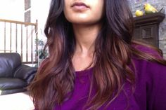 How to achieve ombre effect with Lush henna dyes