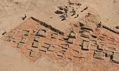 Archaeologists excavating on the banks of the Nile have uncovered a necropolis where hundreds of small pyramids once stood.  Dated to approx. 2,000 yrs ago, the site is located 450 miles from Meroe, Egypt.