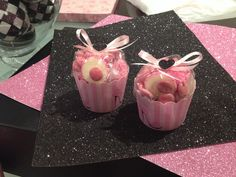 Cup cake lolly bags