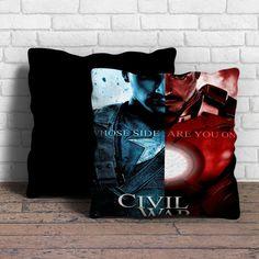 captain america civil war Pillow | Aneend
