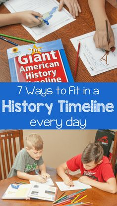7 Ways to Incorporate a Timeline Into Your American History Lessons - Royal Baloo - This American history timeline will make your homeschool history lessons more fun and engaging and - Social Studies Worksheets, Social Studies Notebook, Social Studies Activities, History Activities, Teaching Us History, History Education, Teaching Resources, Homeschooling Resources, Teaching Tools