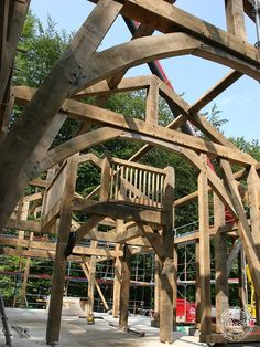 Primary Oak Timber Frame with King Post Truss