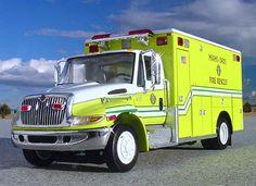 Miami Fire Department | VR Miami Dade Fire Rescue EMS Ambulance First Gear | eBay