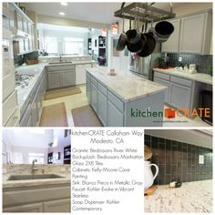 See The Results Of An Amazing Kitchen Remodel Including Countertops Modesto On Cam Way