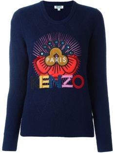 760b5723 Designer Clothes, Shoes & Bags for Women. Navy Blue SweaterNavy Sweaters Kenzo ...