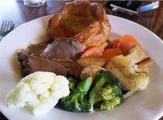 Sunday roast dinner