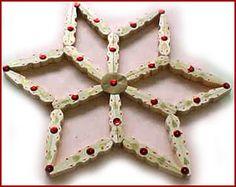 Lavoretti di Natale. Una stella con le mollette. Speciale Natale - www.Sottocoperta.net