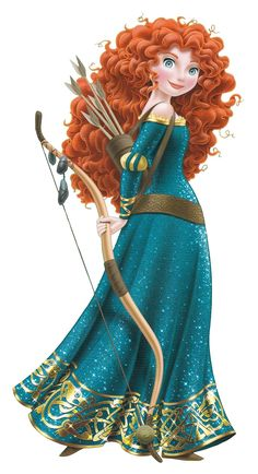 Disney Princess images Merida with Bow and Arrows HD wallpaper and background photos
