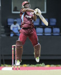 West Indies v Pakistan 5th ODI: Johnson Charles got off to a slow start for a change. He hit 43 runs from 71 balls.