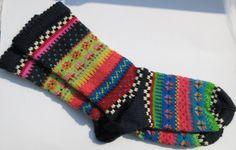 Bunte Fair Isle Socken Adsila Gr. 38/39 von Sockenlust auf Etsy