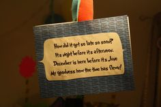 Seuss good-bye sign