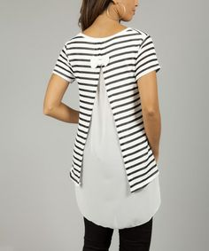 Great way to refashion a t-shirt.