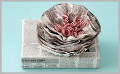 Des Utilisations surprenantes du papier journal