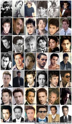 Robert Downey Jr.  Proof that some things get better with age.