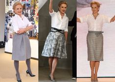 Carolina Herrera, she always looks fabulous! 60 Fashion, Mature Fashion, Fashion Over 50, Fashion News, Fashion Outfits, Womens Fashion, Fashion Design, Carolina Herrera, Outfit Elegantes