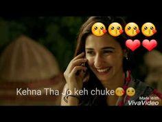 Whatsapp Video Status (Meri Nazar Ka Safar) - YouTube Hindi Love Song Lyrics, New Hindi Songs, Romantic Song Lyrics, Romantic Songs Video, Best Love Songs, Best Love Lyrics, Cute Love Songs, Bollywood Music Videos, Tamil Video Songs