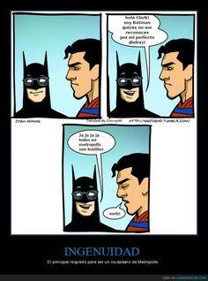Batman Trolls Superman [Comic] - Batman Funny - Funny Batman Meme - - [Source: What Would Josh Do?] The post Batman Trolls Superman [Comic] appeared first on Gag Dad. Dc Memes, Funny Memes, Hilarious, Funniest Memes, Humor Batman, Funny Batman, Geeks, Batman E Superman, Hilarious Pictures