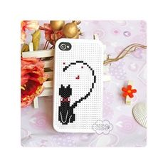 KEC DIY iPhone 4 Case Cross Stitch Case, Cat, for Girl http://www.amazon.co.uk/gp/product/B007VLPYGQ