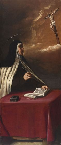35 best doctor of prayer st teresa of avila images in - Teresa of avila interior castle summary ...