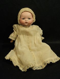 Love antique bisque baby dolls! They were the first antiques I collected in the 70s, (before jewelry and purses)..I'd like to collect a couple again.