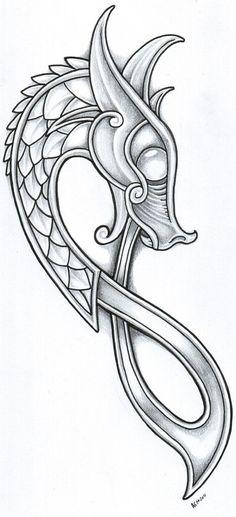 viking dragon: