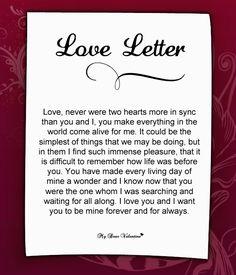 Love Letter For Her #48