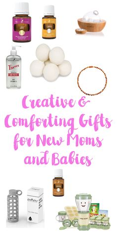 Creative Gift Ideas for Comforting any New Mom & Baby!