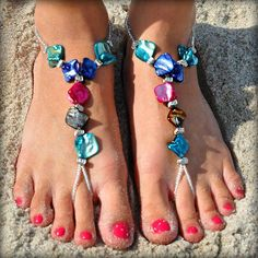 How To Make Barefooting Pretty with Bottomless Sandals | Barefoot and Paleo