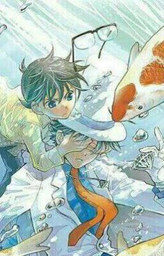 """Tôi vừa đăng """" Chap 1 : Khi Kaito và Shinichi hồi bé """" từ truyện của tôi """" Cuộc tranh luận của kaishin hồi bé """"."""
