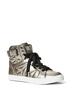 6dc921584452fe G by GUESS Women s Omarc Metallic High-Top Sneakers G by ... https