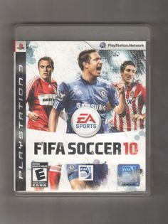 Playstation 3 EA Sports Fifa Soccer 10, Vintage Games, Antique Alchemy