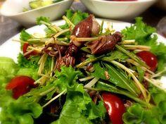 今日の晩御飯は韓国風 - 33件のもぐもぐ - ホタルイカと水菜の韓国風サラダ by keiyan