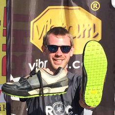 Sunny day can even get better with an upgrade with Maerengue sole and Megagrip compound at Megavalanche race (Alpe d'Huez, France - July, 2016).