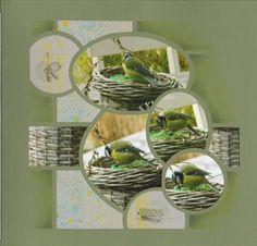 Cirkels ovalen Scrapbooking Layouts, Scrapbook Pages, Digital Scrapbooking, Book Layouts, Sketch 4, Graphic 45, Photo Book, Stencils, Mosaic