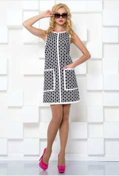 We choose casual dresses. Fashionable dresses for every day - photo, novelties, ideas Simple Dresses, Cute Dresses, Vintage Dresses, Casual Dresses, Short Dresses, Fashion Dresses, Fashion Clothes, Psychedelic Fashion, Fashion Forever