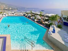 Rooftop pool ~ Monaco