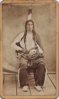 Высокая Птица, сихасапа-лакота. До 1926 г.