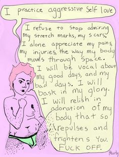 F*ck Your Beauty Standards: 16 Body Positive Illustrations to Boost Your Self-Love