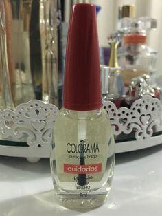 Para o esmalte durar e ficar com um brilho lindo: Extra brilho, de Colorama.