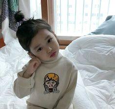Ideas Baby Girl Fashion Asian For 2019 Cute Asian Babies, Korean Babies, Asian Kids, Cute Babies, So Cute Baby, Cute Kids, Trendy Kids, Kids Girls, Baby Kids