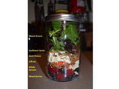 More Mason Jar Salads  at www.everydayroadtohealthy.com