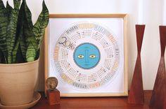 Kalender 2019 Nortic Kreative Manuelle Schreibtisch Calendario Pared Büro Tisch Holz Kalender Home Dekorationen Schreibwaren Mädchen Geburtstag Geschenk