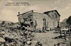 "- Schweiz, Kanton St. Gallen, SEGANTINI""S , Sterbehaus,  + 29.Sept. 1899 ."