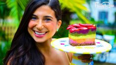 FullyRaw Rainbow Cake for My Birthday! See what I made to celebrate my 28th birthday! Raw vegan dessert made of fruit! I hope that you make it for your birth...