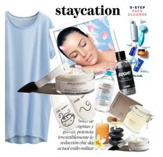 """Staycation"" by clotheshawg ❤ liked on Polyvore featuring Uniqlo, New Directions, Kate Spade and Garance Doré"