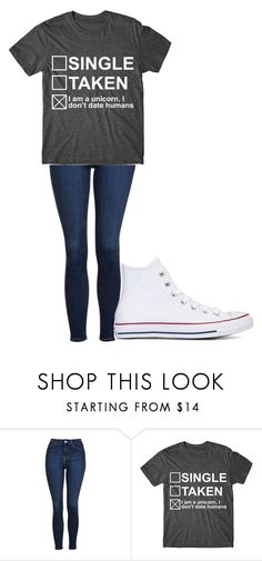 """Untitled #270"" by cruciangyul on Polyvore featuring Topshop and Converse"