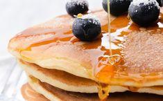A Sugar Shack recipe on how to make Blueberry Pancakes Cronut, Cupcakes, Blueberry Pancakes, Cake Decorating, Brownie Cookies, Breakfast, Sugar, Food, Pancake Ideas